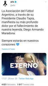 Maradona-mort