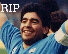 Diego Maradona, la légende du football, est mort à 60 ans