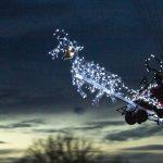 [VIDEO] Alsace : il fabrique le traîneau du Père Noël pour survoler des villages