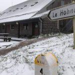 Retour de la neige ce 25 mai sur les Hautes-Vosges