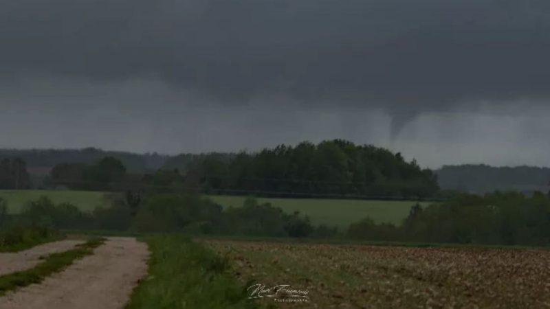 Meuse : Un début de tornade (tuba) ce dimanche
