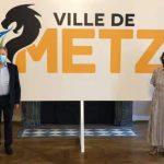 La ville de Metz présente son nouveau logo